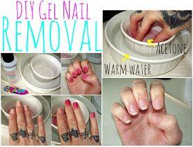 Lulu & Sweet Pea: DIY Gel Nail Removal