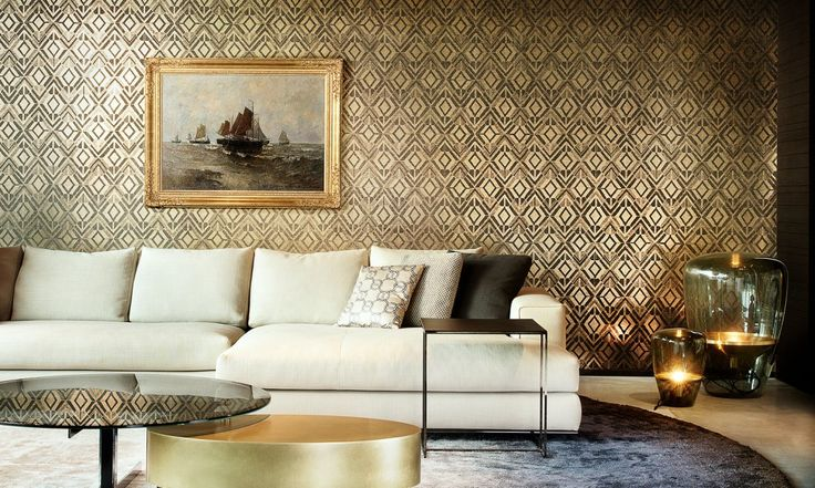 Geo | Revera, wallpaper inspired by fashion and textile | Collections | Arte wallcovering