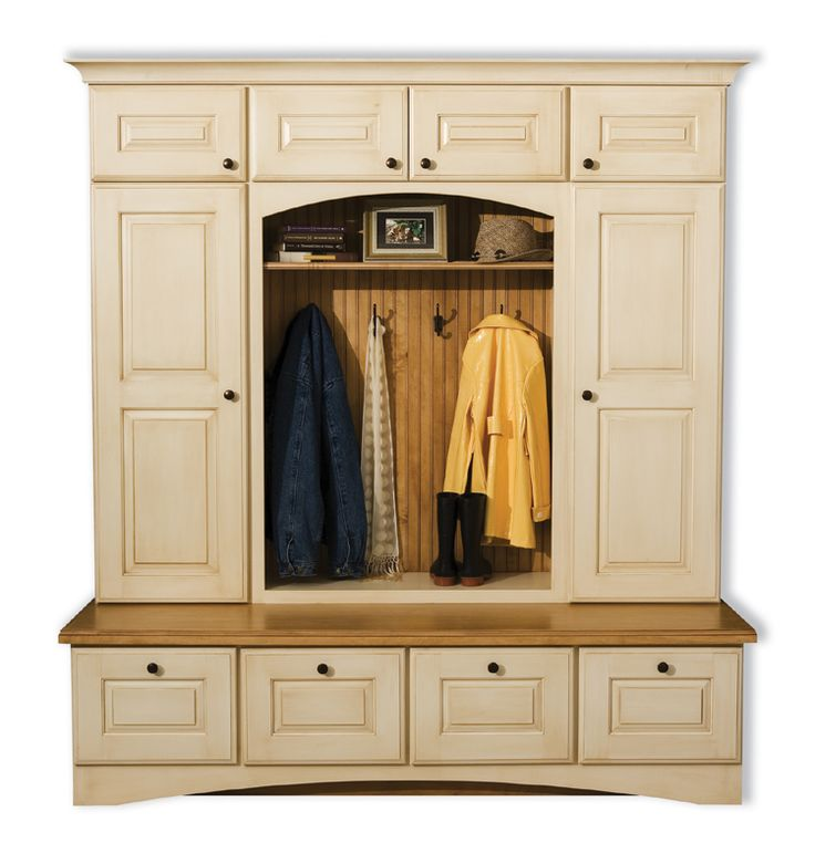 Dura Supreme Boot Bench And Locker Cabinetry