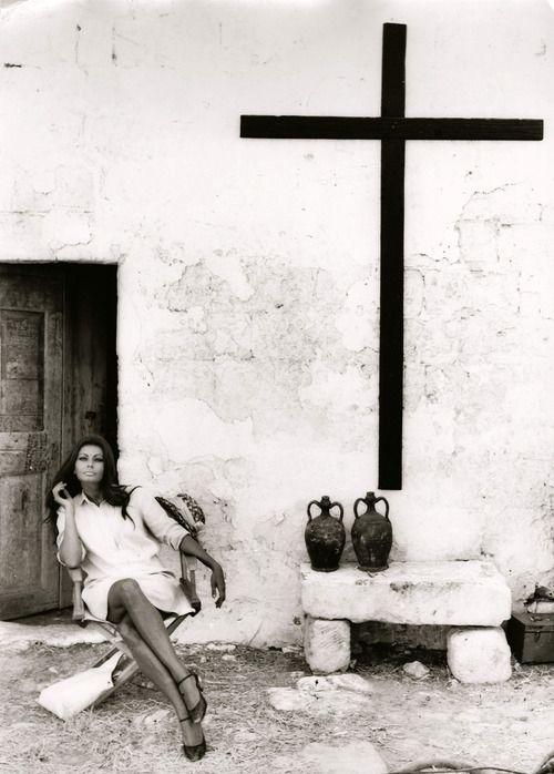 Sophia Loren by Tazio Secchiaroli