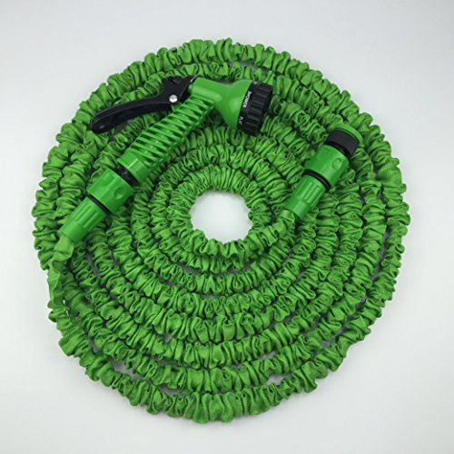 50FT Garden Hose Expandable Water Hose With Plastic Connector Lightweight  Strongest Flexible Watering Hose