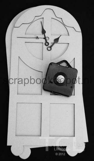 Tando Creative - Carriage Clock (greyboard)