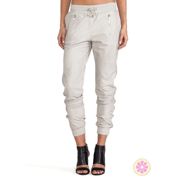 New Leather Sweatpants Leather Jogger Pants Faux Leather Pants Women