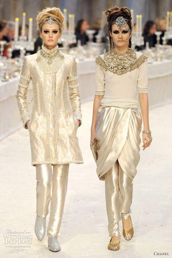 Chanel Pre-Fall 2012 Collection — Paris-Bombay | Wedding Inspirasi