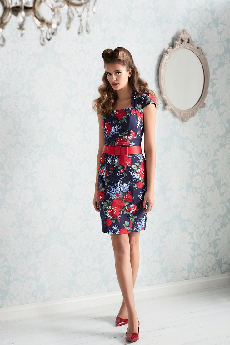 Daydream Floral Dress  | Alexia Bow Belt
