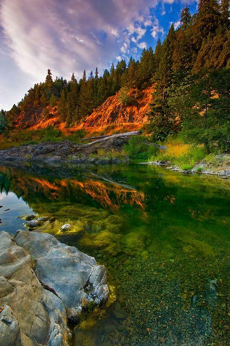 Eel River Reflections, California