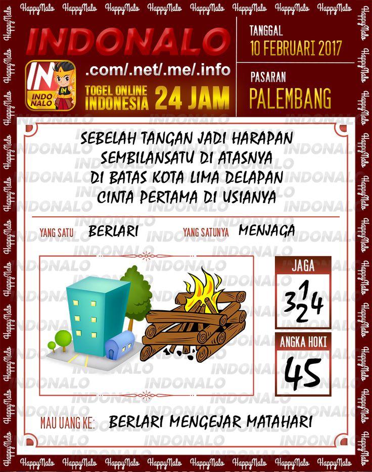 Angka Taysen 6D Togel Wap Online Live Draw 4D Indonalo Palembang 10 Februari 2017