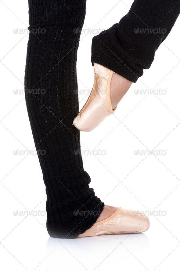 Ballet dancer posing en pointe ...  art, artist, balance, ballerina, ballet, classical, closeup, costume, da