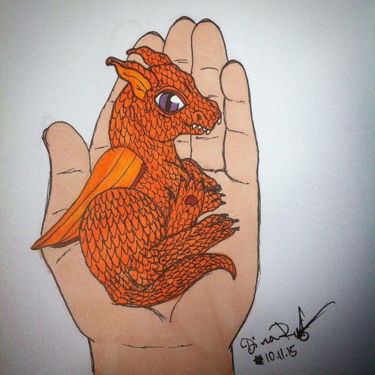 a baby dragon