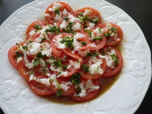 Tomato Salad! With Japanese-Style Dressing
