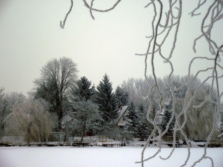 Téli látkép