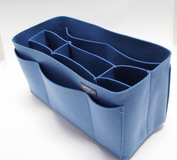 felt purse organizer.