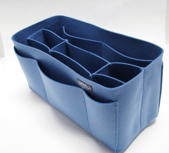 felt purse organizer.   http://www.etsy.com/listing/66893319/cool-blue-felt-bag-organizer-large-size?ref=sr_gallery_17_search_query=organizer_page=6_search_type=handmade_facet=handmade