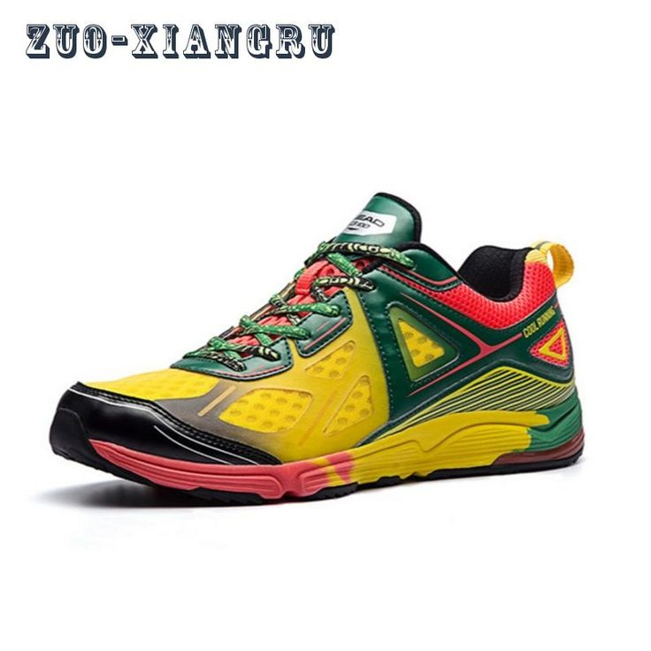 46.90$  Watch here - http://ali4kn.shopchina.info/go.php?t=32800113547 - 2017 New Men's Athletic Shoes Lightweight Breathable Sports Shoes Male's High Quality Cross Country Running Shoes Sneakers 46.90$ #buychinaproducts