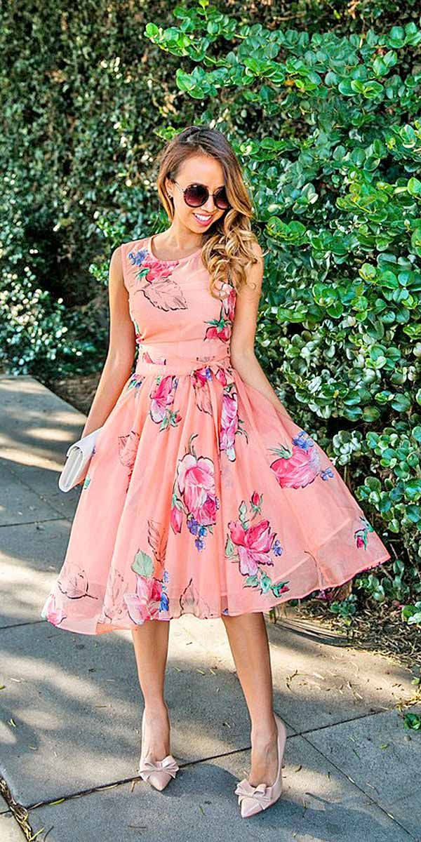 Wedding Guest Dresses For Every Seasons And Style ❤ See more: http://www.weddingforward.com/wedding-guest-dresses/ #weddings