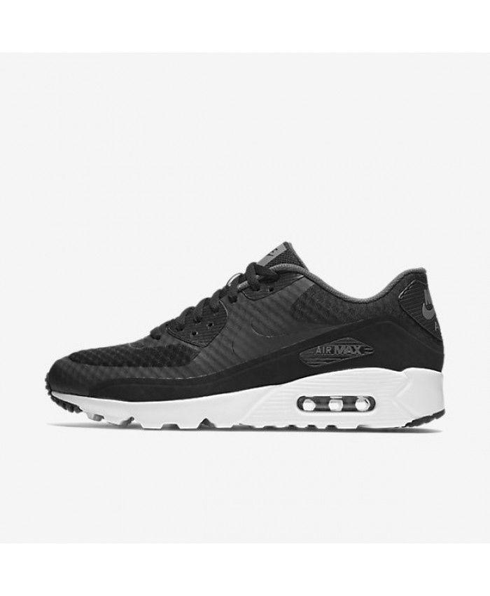 best website dc341 f8d1a Nike Air Max 90 Ultra Essential Mens Black Dark Grey White Black