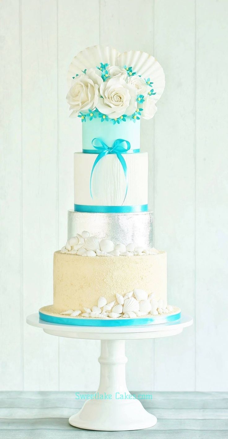 The 149 best Nautical themed wedding cakes images on Pinterest ...