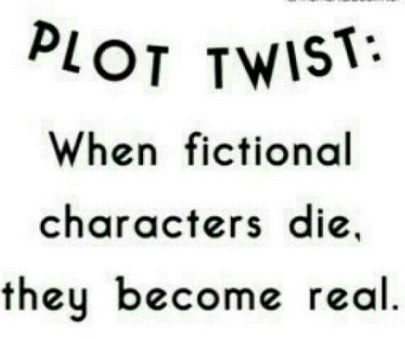 Where are all those fictional characters I have read about?!