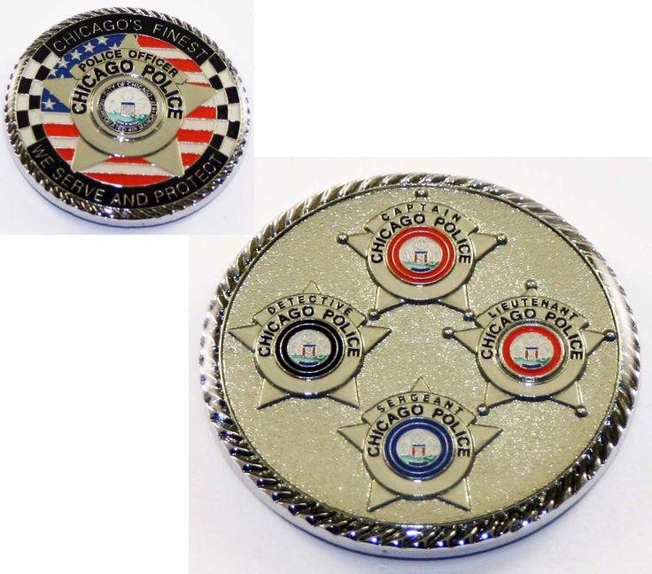 Wedding Gifts Chicago: 6043 Chicago Star Challenge Coin Chicago Fire Department