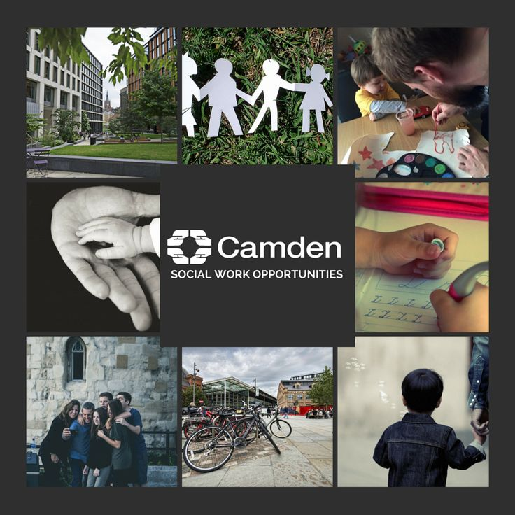 Camden is looking for Social Workers to join their Family