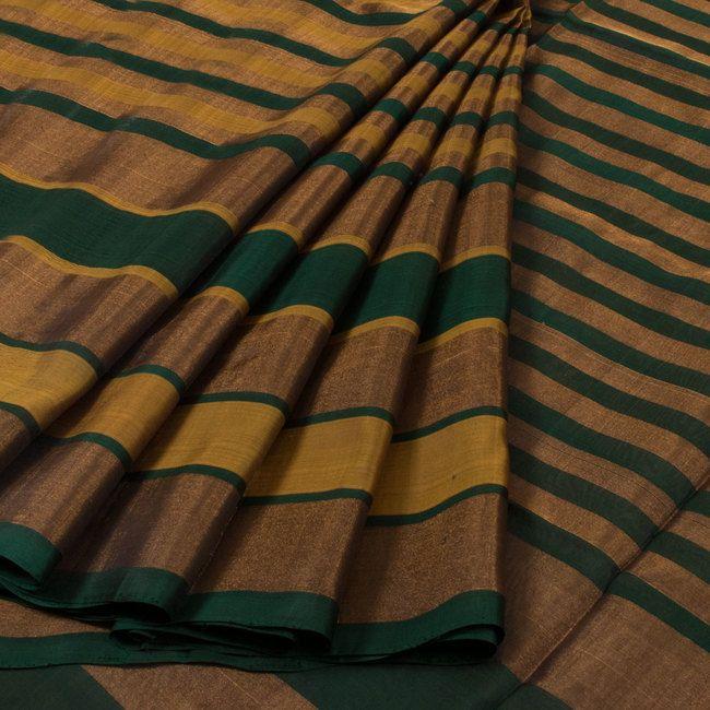 Buy online Handwoven Uppada Silk Saree With Zari Stripes 10025622