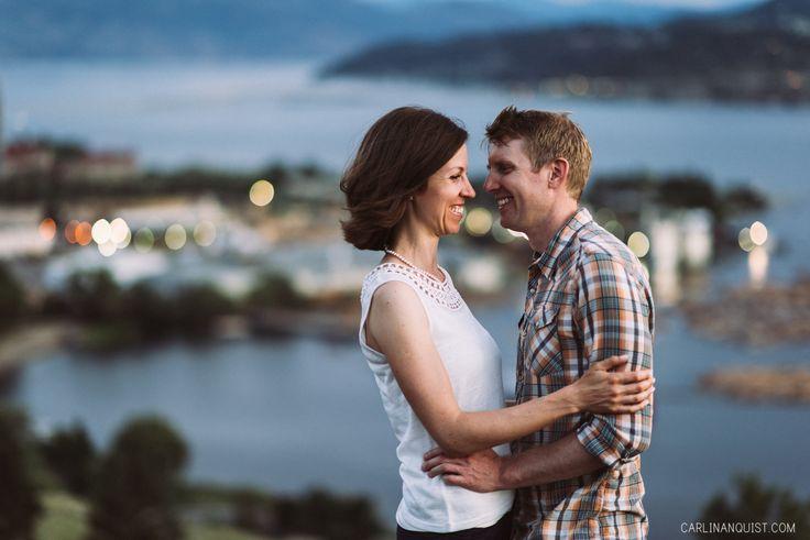 Kelowna Wedding Photographer | Knox Mountain Engagement Session