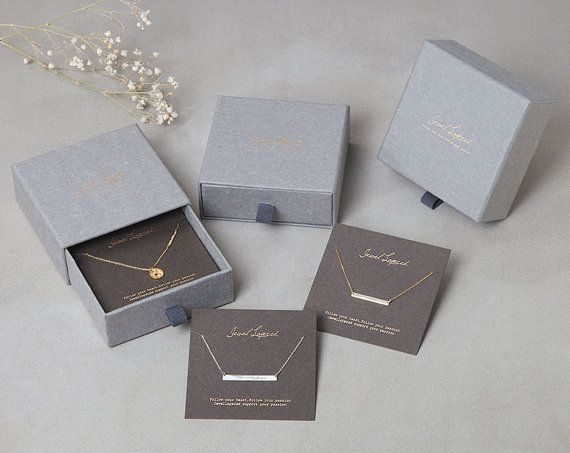 Jewelry Packaging Designs