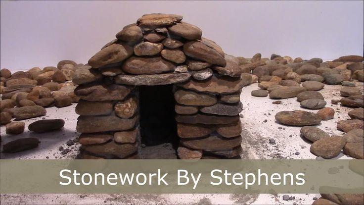 How To Build A Mini Stone House Preview