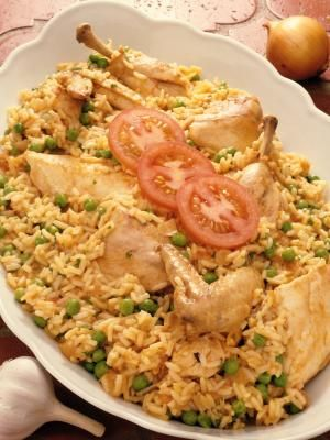 How to make Panamanian Chicken Fried Rice (Arroz con Pollo) Recipe
