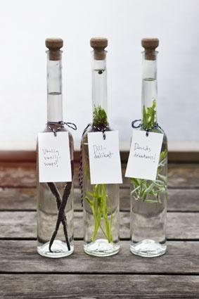 Bottle 500 ml    Label  Cotton string