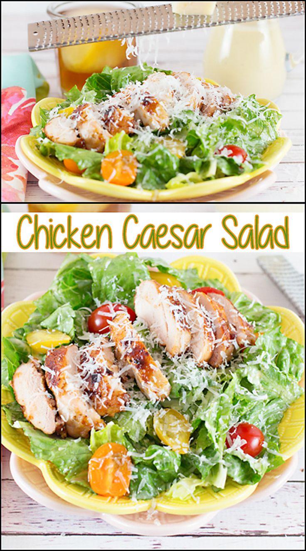 chicken caesar salad recipe caesar salad dressing and salad chicken. Black Bedroom Furniture Sets. Home Design Ideas