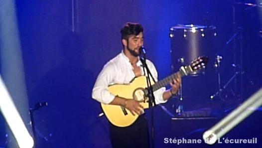 Vidéo Kendji Girac en concert  à Porcieu-Amblagnieu  le Dimanche 22 mars 2015  #Kendji
