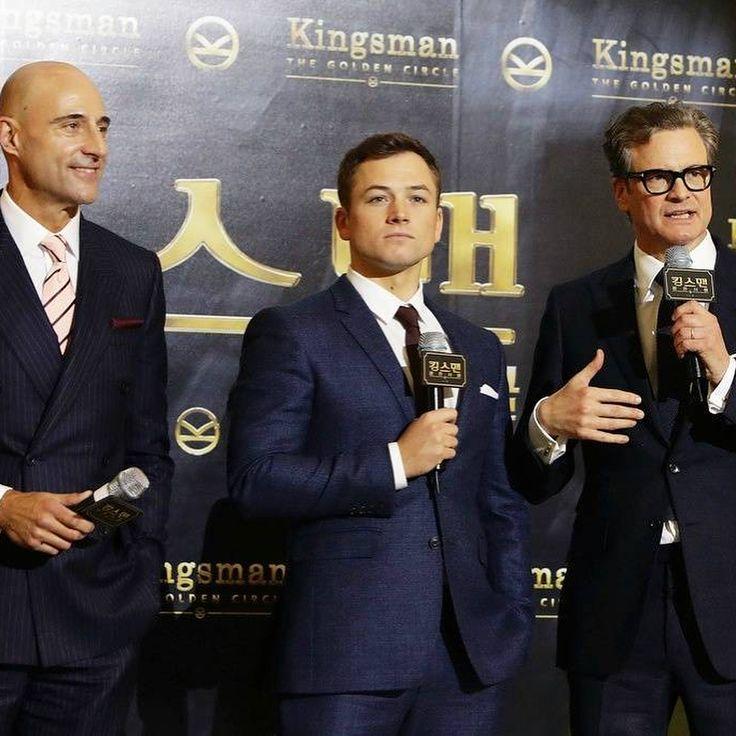 Kingsman Premiere, South Korea 20/09/2017