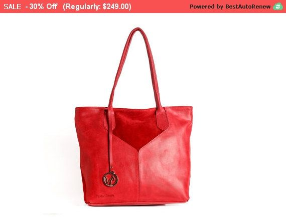 Hey, I found this really awesome Etsy listing at https://www.etsy.com/listing/232457529/red-leather-tote-bag-red-tote-bag