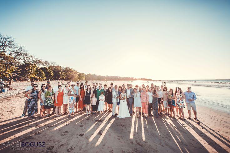 Beach wedding in Tamarindo Costa Rica #beachwedding #romanticwedding #weddingcostarica #destinationwedding #costaricawedding #beach #bride #groom