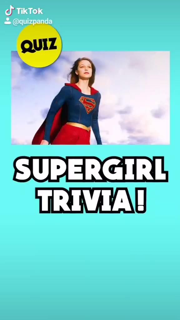 Video How Well Do You Know Supergirl 10 Second Quiz By Quiz Panda