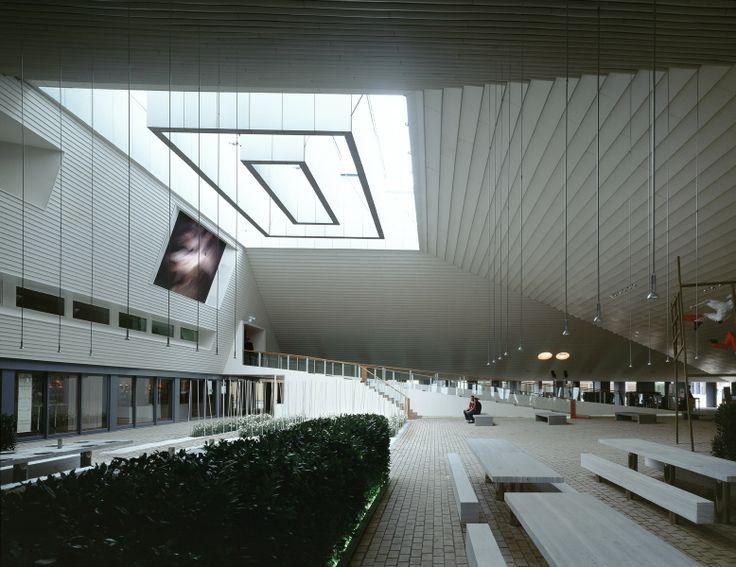 41 best luz cenital images on pinterest architects for Interior design hannover