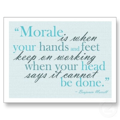 child morale