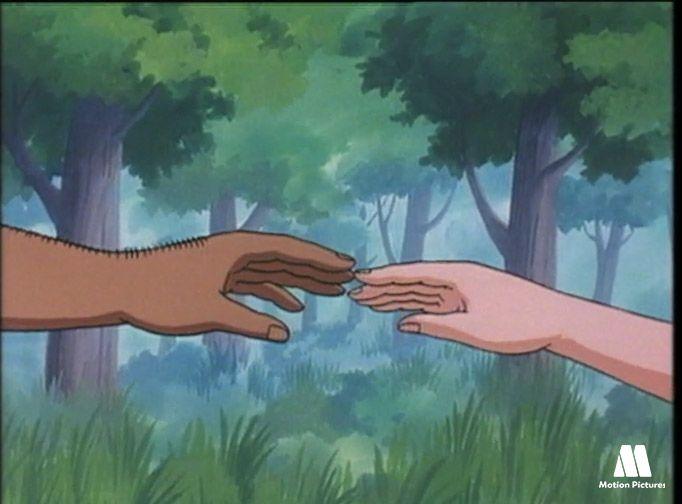Adan y Eva, dibujos de la biblia para niños