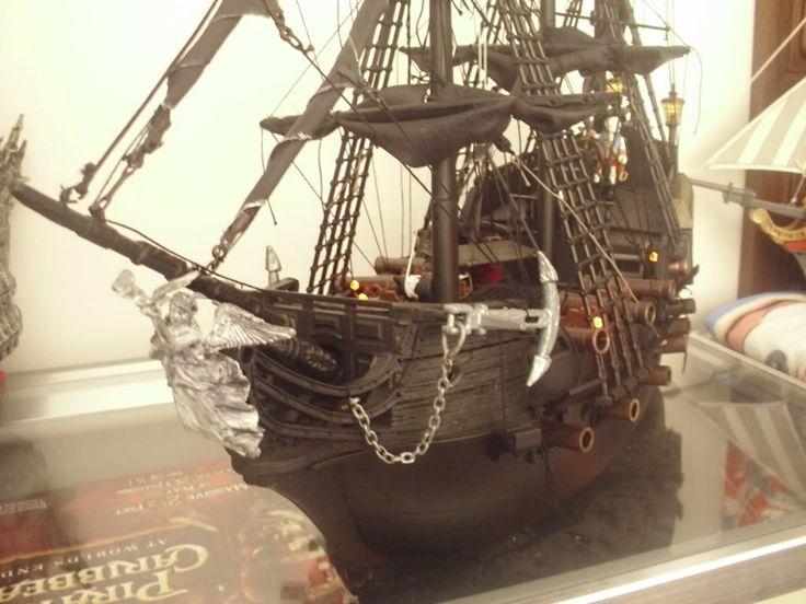 THE BLACK PEARL (Pirates of the Caribbean) aka Playmobil 3286 / 3940 custom