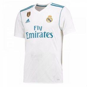 Real Madrid Domácí Dres 17-18 Krátký Rukáv