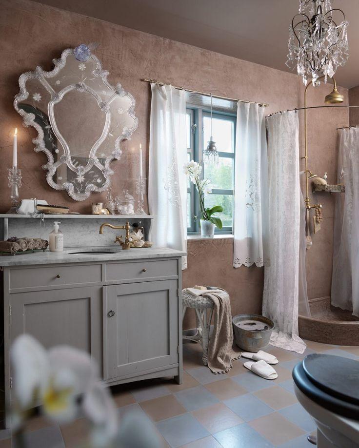 #10 tips voor een romantische badkamer | kroonluchter - Makeover.nl