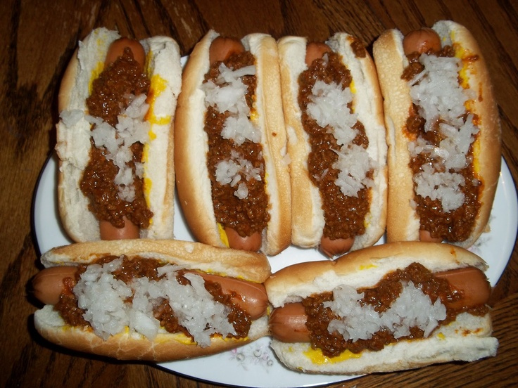 Coney Sauce (Chili Sauce) - This is the absolute best.