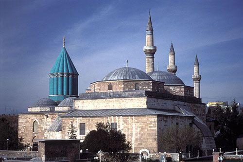 Shrine of Rumi, Konya, Turkey