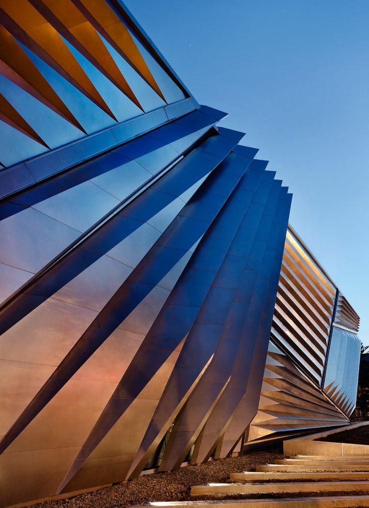 Broad Art Museum by Zaha Hadid