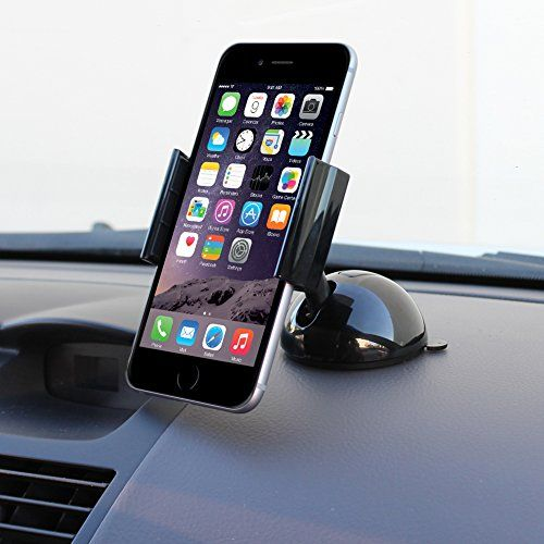 awesome iKross Universal Windshield / Dashboard Car Mount Stand Holder Cradle for iPhone 6 6 Plus / Samsung Galaxy / HTC One / LG / Nokia and Other Smartphone