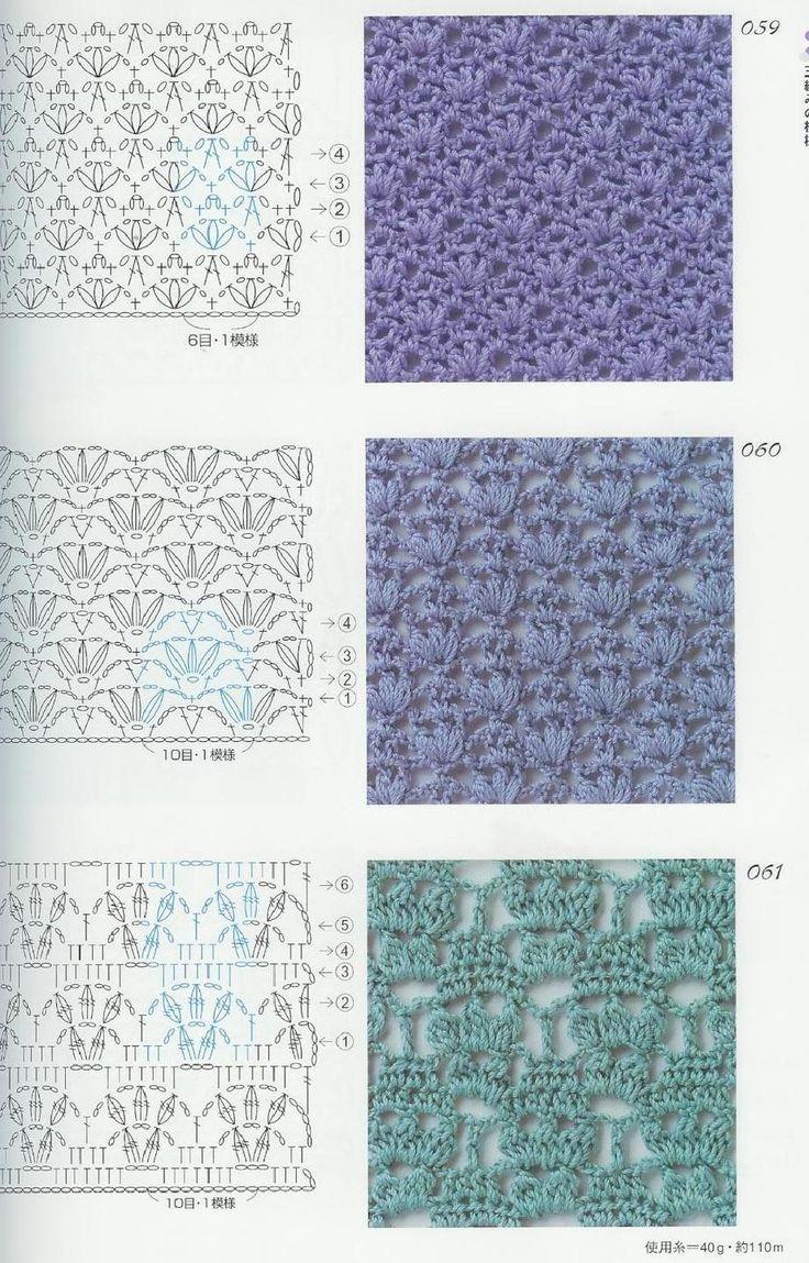 Mejores 369 imágenes de crochet en Pinterest | Artesanías, Puntadas ...