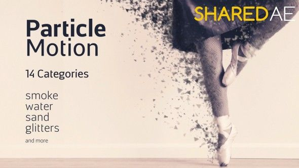Videohive - Particle Motion - Photo Animation Particular Effects 19279865 - Free Download