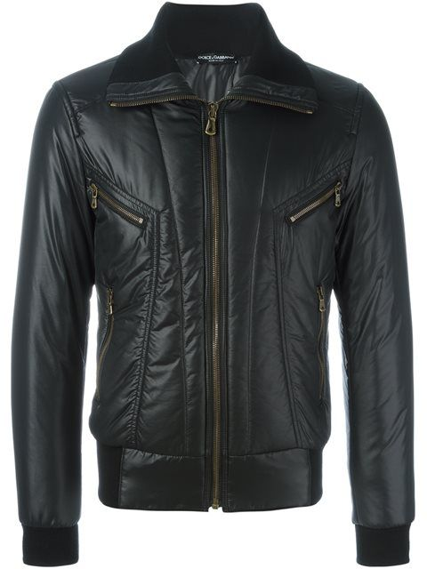 DOLCE & GABBANA Padded Jacket. #dolcegabbana #cloth #jacket