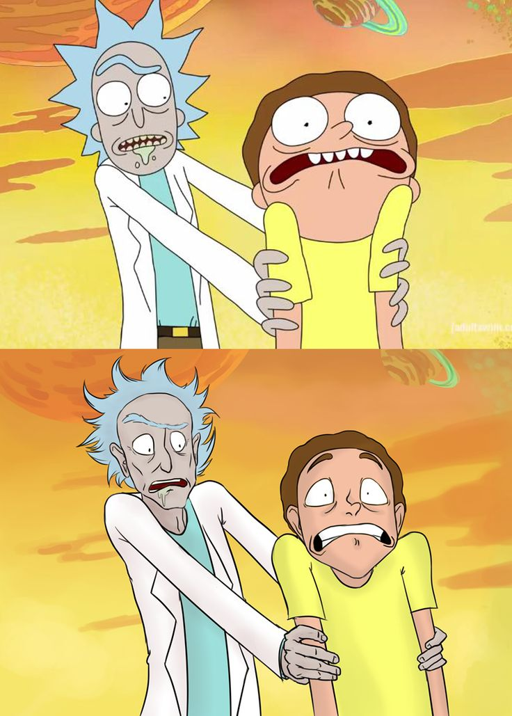 rick and morty | Rick and Morty - scene redraw by TittyBomb